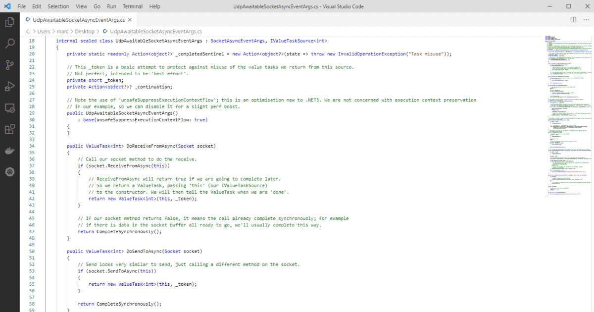 High Performance UDP sockets in .NET 5
